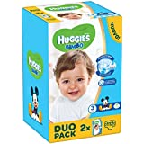 Huggies - Bimbo - Pañales - Talla 3 (4 - 9 kg) - 2 x 56 pañales
