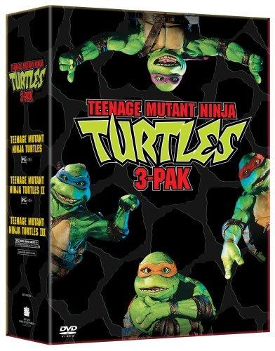 Teenage Mutant Ninja Turtles Three Pack (Teenage Mutant Ninja Turtles/Teenage Mutant Ninja Turtles II - The Secret of the Ooze/Teenage Mutant Ninja Turtles III) by ()