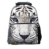 B-JOY Garçons Filles Enfant Sacs à Dos 3D Animal Personnalisez Sac école Scolaire Cartable Sac de Voyage Camping école Randonnée (tigre)