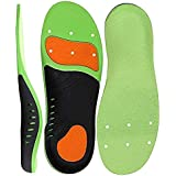 Shoe Insoles with arch Support Foot Pain Relief and Orthotics Feet Insoles Deep U-Shaped Heel for Man Women Shoe Inserts with