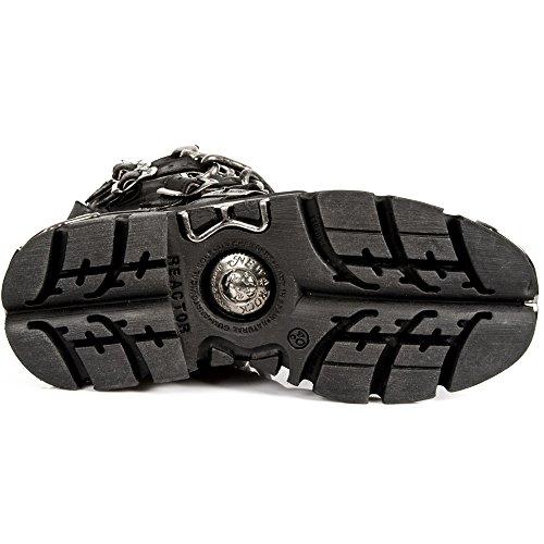 New Rock Unisexe Black Stylish Boots -M 727 S1 Noir