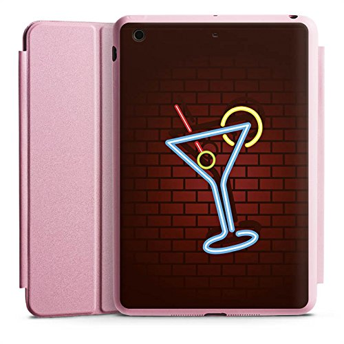 d Mini 3 Smart Case rosa Hülle mit Ständer Schutzhülle Cocktail Party Neon ()