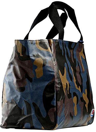 Borsa Shopping Donna K-Way K-Camouflage E/W Shopper K1A02-Camouflage