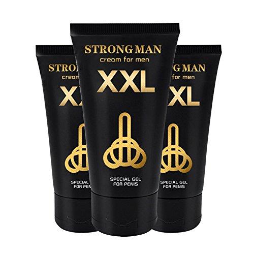 XXL starkes Mann-Creme-spezielles Gel für Penis-Massage-Vergrößerung 50ML / 1.7fl.oz