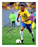 Neymar - Brazil Signiert Autogramme 21cm x 29.7cm Plakat Foto