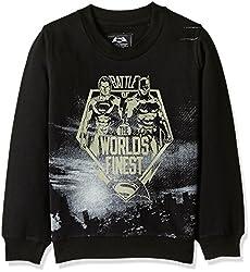 Dawn of Justice Boys Sweatshirt (DJ1ESB2376_BLACK_2/3)