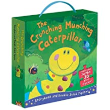 The Crunching Munching Caterpillar: Storybook and Double-Sided Jigsaw by Sheridan Cain (2013-06-03)