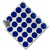 3M 610C Reflektierendes Klebeband Reflexfolie Reflektorfolie Geocaching Punkte Reflektoren Nachtcache Selbstklebend Blau D20mm