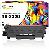 Toner Bank 1 Pack 10400 Seiten Kompatibel für Brother TN2320 TN 2320 TN-2320 TN2310 für Brother Hl-L2340DW HL-L2300D HL-L2365DW, Brother MFC-L2700DW MFC-L2720DW DCP-L2520DW DCP-L2540DN Toner