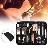 Bulufree Kit di riparazione chitarra Kit di manutenzione per chitarra Kit di strumenti di manutenzione