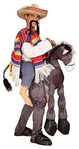 Hey Amigo Kostüm - Hey Amigo Donkey Costume Adult Standard
