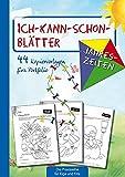 Ich-kann-schon-Blätter Jahreszeiten: 44 Kopiervorlagen für's Portfolio (Die Praxisreihe für Kiga und Kita) (Die Praxisreihe für Kindergarten und Kita)