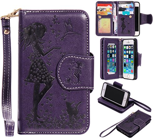 bonroy-magnetic-flip-cover-for-iphone-5-5s-5sewoman-and-cat-theme-series-embossing-wallet-case-with-