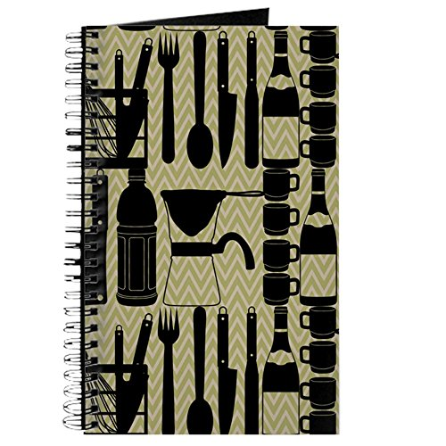 (CafePress–Küche Kochgeschirr–Spiralbindung Journal Notebook, persönliches Tagebuch, Aufgabe Tagebuch)