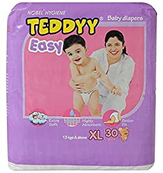 Teddyy Easy Baby Extra Large Size Diaper (30 Count)