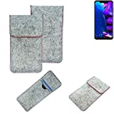 K-S-Trade® Protective Felt Case For Allview Soul X5 Pro