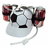 Novelties Beer Soda Guzzler Helmet Drink...