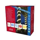 Konstsmide 3044-100 LED Lichterschlauch 6m / für Außen (IP44) / 230V Außen / 72 warm weiße Dioden/transparenter Schlauch