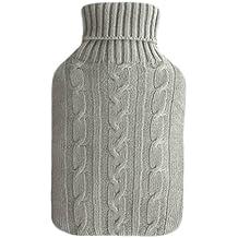 Wärmflasche (2 Liter) von sippi's homeware Wärmeflaschen / Wärmekissen mit Bezug