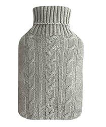 Wärmflasche (1,8 Liter) von sippi's homeware Wärmeflaschen / Wärmekissen mit Bezug