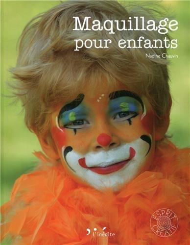 Maquillage pour enfants par Nadine Chauvin