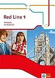 Red Line 1: Workbook mit Audio-CD und CD-ROM Klasse 5 (Red Line. Ausgabe ab 2014)