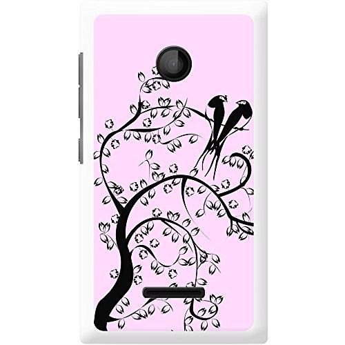 Paradiesvögel Silhouette - Pastellgelb Hartschalenhülle Telefonhülle zum Aufstecken für Apple iPhone 6 PLUS / 6s PLUS Pastellpink
