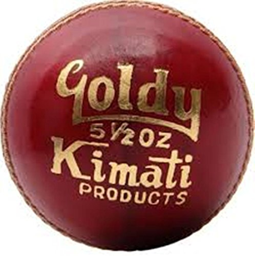 Kimati-Goldy-Leather-Cricket-Ball-Red