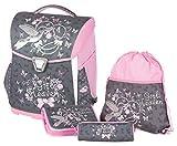 Schneiders ViennaToolbag Basic Schulranzenset Girls Heaven, Sportbeutel, Federpennal mit 1 Flügel, Schüttelpennal, 4 teiliges