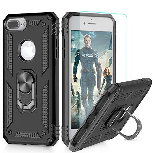 LeYi Funda iPhone 6 Plus / 7 Plus / 8 Plus Armor Carcasa