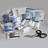 Rot-Kreuz-Kasten-Nachfüllpack-Maxi, Premium-Nachfüllset- DIN 13169 - Typ E, Nachfüllung für Erste-Hilfe-Kasten, Verbandskasten-Nachfüllset 13157 - Typ C (klein), Größe:Mini