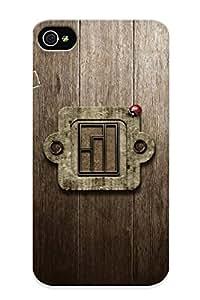 Ellent Design Inscription Logo Manjaro Linux Ladybug Boards Phone Case For Iphone 4/4s Premium Tpu Case For Thanksgiving Day's Gift