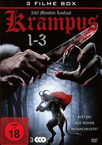 Krampus 1-3 uncut Box-Edition (3 DVDs)