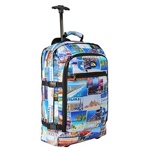 Imagen de maleta con ruedas cabin max, la más ligera del mundo, convertible en  – equipaje con ruedas de 44 litros y 1,7 kilogramos de peso photo postcards  alternativa