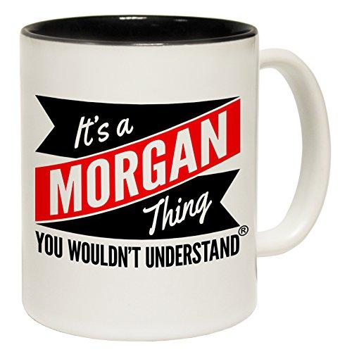 123t tazze nuovo è a Morgan cosa non comprendere Tazza in ceramica con scritta, Ceramica, Black