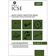 Most Likely Question Bank for Geography: ICSE Class 10 for 2019 Examination