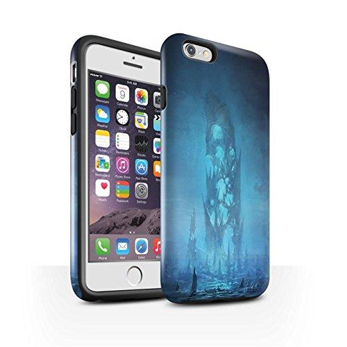Offiziell Chris Cold Hülle / Glanz Harten Stoßfest Case für Apple iPhone 6S / Schmelzen Sonne Muster / Fremden Welt Kosmos Kollektion Rest