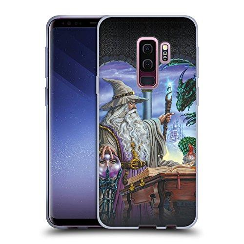 Offizielle Ed Beard Jr Botschafter Drachen Von Dem Zauberer Fantasie Soft Gel Hülle für Samsung Galaxy S9+ / S9 Plus