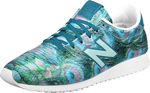 New Balance 420, Baskets Mode Femme turquoise vert