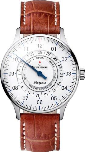 MeisterSinger Einzeigeruhren mit Zusatzfunktion Pangaea Day Date PDD901 (Meistersinger Uhr)