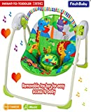 Best Baby Swing And Bouncers - Fitch Baby Cosy Portable Baby Electric Swing Bouncer Review