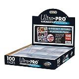 """Ultra Pro 84732 Platinum-Album """"100Seiten, 3-Fach Gelocht, mit 9Fächern"""""""