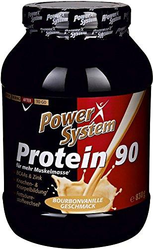 Power System - Protein 90 Bourbonvanille - 830g - Mehrkomponenten Eiweiss (Bourbon...