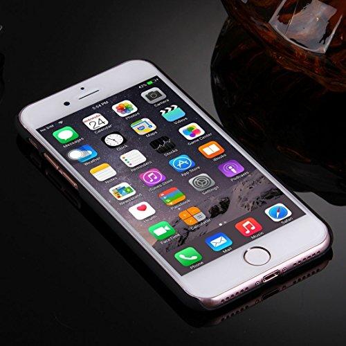iPhone Case Cover Pour iPhone 7 Embossement creusé-out motif de fleur Transparent étui de protection arrière ( SKU : IP7G0769D ) IP7G0769A
