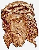 Betlemme Gesù casting testa con la corona di spine placca a muro
