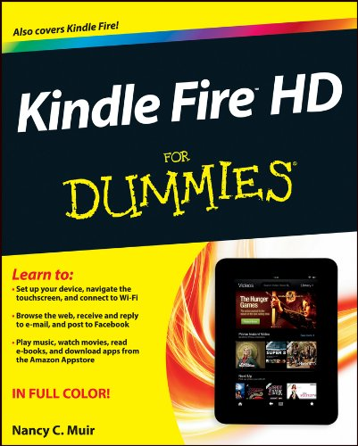 Kindle Fire HD For Dummies (English Edition) (Kindle Fire Für Dummies)