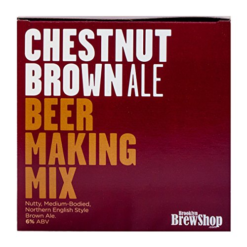 Brooklyn Brew Shop Bier Herstellungsset, Chestnut Brown Ale