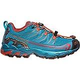 La Sportiva Unisex-Erwachsene Falkon Low 36-40 Trekking-& Wanderhalbschuhe, Mehrfarbig (Tropisches Blau/Orangerot 000), 38 EU