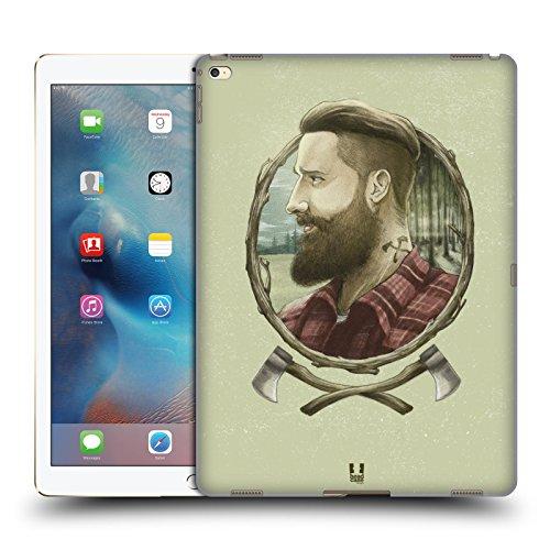 Head Case Designs Holzhacker Männliche Hipsters Ruckseite Hülle für iPad Pro 12.9 (2015)