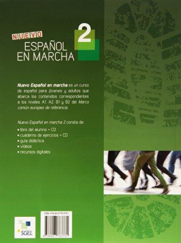 Nuevo Espanol en Marcha 2 : Student Book + CD: Level A2